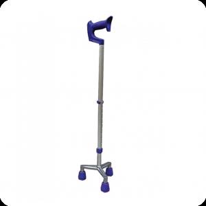 Tripoid Crutch Stick